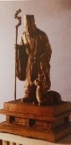 寿老人(石浜神社)